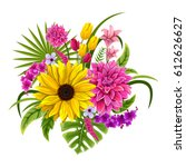 vector design of colorful... | Shutterstock .eps vector #612626627