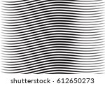 wavy  billowy lines  stripes... | Shutterstock .eps vector #612650273