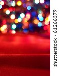 Bright christmas background - stock photo