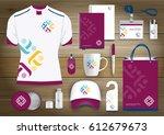 people logo color community... | Shutterstock .eps vector #612679673