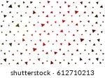 dark green  red vector... | Shutterstock .eps vector #612710213