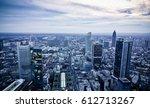 frankfurt march 19  frankfurt... | Shutterstock . vector #612713267