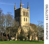 Small photo of Pershore Abbey Worcestershire England UK