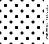 polka dot background. circle... | Shutterstock .eps vector #612772817