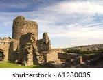 a colourful photo of castle...