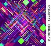 abstract vector background dot... | Shutterstock .eps vector #612804503