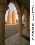 Small photo of Traditional dovecotes in Katara Cultural village, Doha, Qatar