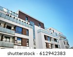 modern  luxury apartment... | Shutterstock . vector #612942383