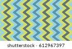 seamless wavy stripes pattern....   Shutterstock .eps vector #612967397