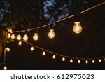 garland light bulb | Shutterstock . vector #612975023