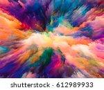 color splash series. abstract... | Shutterstock . vector #612989933