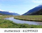 nelson creek in dyea alaska | Shutterstock . vector #612995423