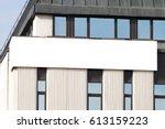 mock up. vertical blank... | Shutterstock . vector #613159223