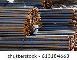 onstruction armature | Shutterstock . vector #613184663