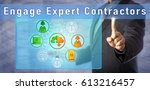 blue chip consultant is urging... | Shutterstock . vector #613216457