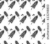 seamless vector pattern of...   Shutterstock .eps vector #613248803