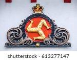 isle of man  douglas  7 june... | Shutterstock . vector #613277147
