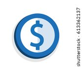 icon symbol  design vector...   Shutterstock .eps vector #613362137