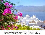 scenic view of traditional...   Shutterstock . vector #613431377