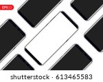 phone  mobile smartphone design ... | Shutterstock .eps vector #613465583