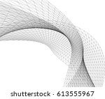 abstract shape structure | Shutterstock .eps vector #613555967