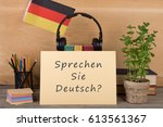 learning languages concept  ... | Shutterstock . vector #613561367