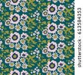 simple elegant seamless pattern ...   Shutterstock .eps vector #613584353