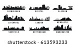 set of great britain big cities
