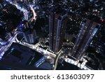 tokyo night view | Shutterstock . vector #613603097