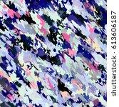 multicolor grunge background... | Shutterstock . vector #613606187