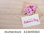 blank white paper tag with... | Shutterstock . vector #613640363