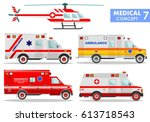 medical concept. detailed... | Shutterstock .eps vector #613718543