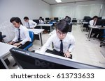 bangkok  thailand   november 17 ... | Shutterstock . vector #613733633