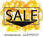 season spring and summer sale...   Shutterstock .eps vector #613793717