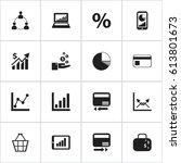 set of 16 editable analytics...