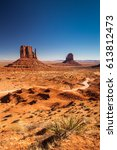 monument valley  usa | Shutterstock . vector #613812473