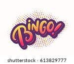 Bingo  Vector Card.