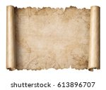 Old Treasure Map Scroll...