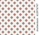 vector seamless pattern.... | Shutterstock .eps vector #613976747