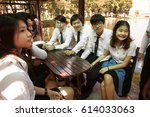 bangkok  thailand   november 17 ... | Shutterstock . vector #614033063