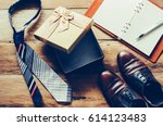 father's day gift ideas for dad | Shutterstock . vector #614123483