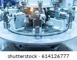 industrial machine robot in... | Shutterstock . vector #614126777
