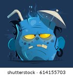 color vector character... | Shutterstock .eps vector #614155703