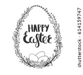 Greeting Card For Easter With...