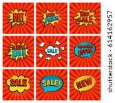retro sales icon vector card...   Shutterstock .eps vector #614162957