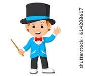 vector illustration of cute...   Shutterstock .eps vector #614208617