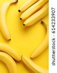 Sweet Bananas On The Yellow...