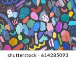abstract creative header.... | Shutterstock .eps vector #614285093
