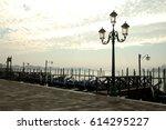 gondolas. | Shutterstock . vector #614295227
