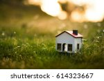 Model House In The Meadow With...